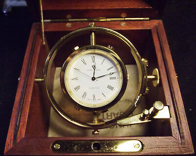 Junghans Navy Quartz - Ship Deck Watch - Marine Chronometer Style - Germany