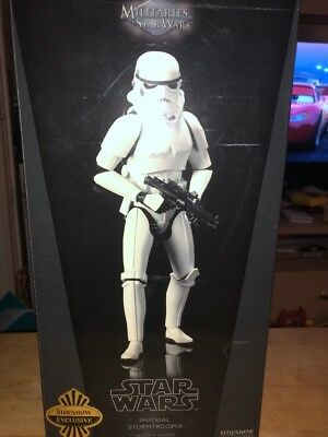 Sideshow collectibles 1/6 Scale. Star Wars stormtrooper Exclusive
