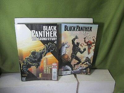 2 Black Panther Sound And The Fury #1 / Reg / Variant Cover (Marvel New (NM)