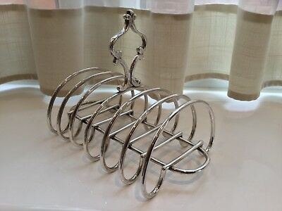 Lovely Antique  Silver Plated Toast Rack