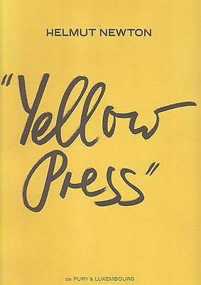 HELMUT NEWTON YELLOW PRESS New in original wrapper Edition of 1500 copies