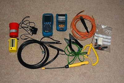 Kane 455 Flue gas analyser kit with accessories