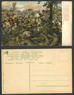 China Russo-Japanese War Battle of Mukden - Manchuria 1904 Old Postcard Soldiers