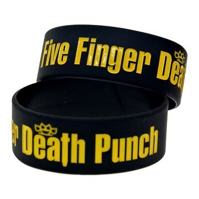 Five Finger Death Punch Silicon Rubber Wristband