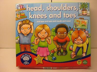 head, shoulders,knees and toes game by Orchard Toys
