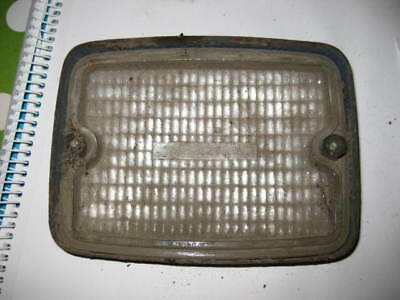 Cluteroche old vintage light lamp lens Ford Fordson Tractor Butlers