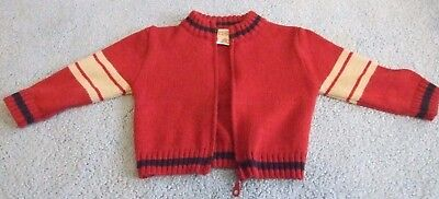 TODDLER 18 MONTH SWEATER RED from ARIZONA JEANS COMPANY - $28 RETAIL