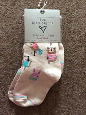 Next Girls Sweet pea Tights 4-5