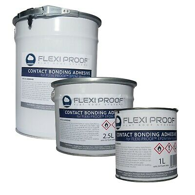 Contact Bonding Adhesive For EPDM Rubber Roofing Membranes for Flat Roofs