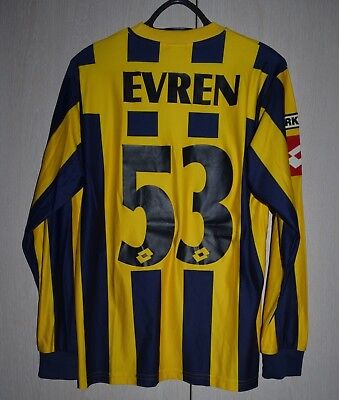 MKE Ankaragücü ANKARA TURKEY MATCH WORN ISSUE FOOTBALL SHIRT LOTTO #53 EVREN