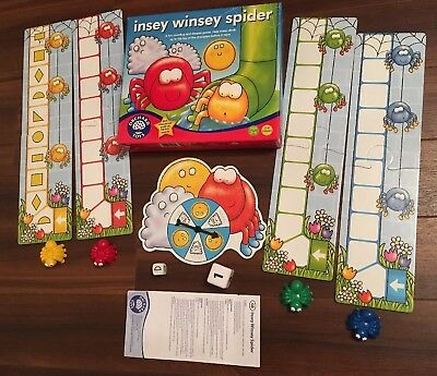Insey Winsey Spider Game (Orchard Toys) Age 3-6yrs