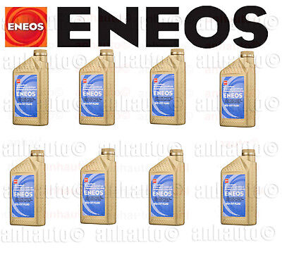 Set of 8 ENEOS CVT Transmission Fluid NS-3 for Nissian Infiniti + Subaru CVTF-II