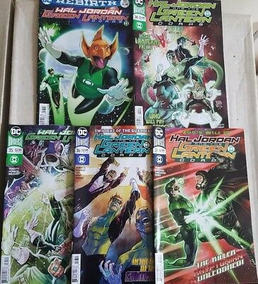 Hal Jordan and the Green Lantern Corps 33-37 set