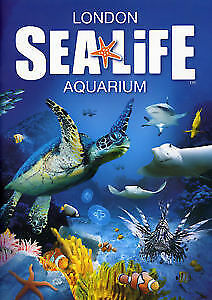 2 X London Sea Life Aquarium Tickets Sunday 25th February 2018