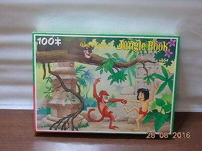 Jungle Book Disney Jigsaw 100 Pieces