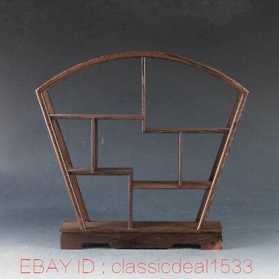 Pretty wood Stand /SHELF For Netsuke / Snuff Bottles Or Curios ZJ0107