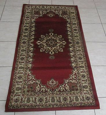 New Persian Design Heatset Floor Hallway Runner 80X150Cm