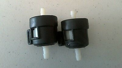 2x Petrol Fuel Gas Filter 49cc 50cc 100cc 125cc Chinese Import Automatic Scooter