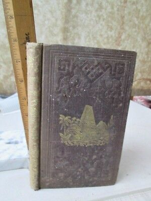 HISTORY of PALESTIME From PATRIARCHAL AGE To PRESENT,1849,John KITTS,Map