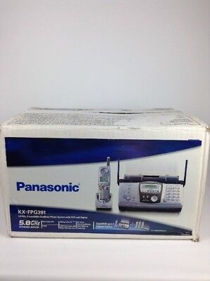 Panasonic KX-FPG391 5.8 GHz Expandable Cordless Phone System with FAX and Copier