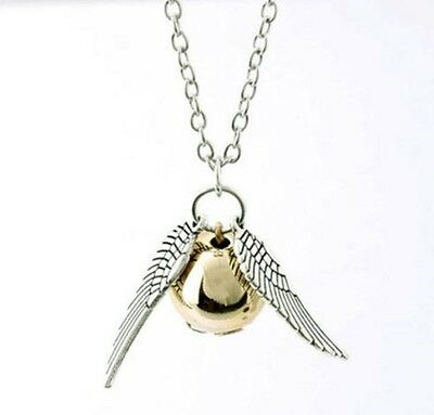 Harry Potter collier argent vif d'or