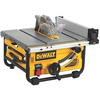 DEWALT 10-Inch Compact Job Site Table Saw with Site-Pro Modular Guarding Syst...