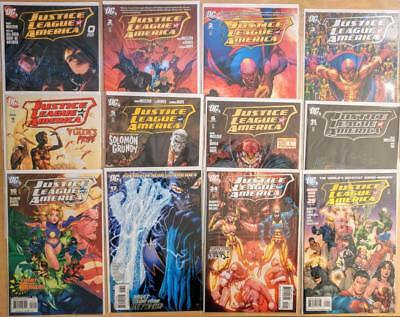 DC Justice League of America 0 2-6 11 16-17 24-25 Lot of 12 Michael Turner NM