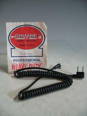 Paramount Cat 4-6C Household To Locking PC Coiled Sync Cord #12