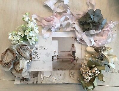 Rachel Ashwell Shabby Chic Photo Props Vintage Millinery Flower Collection