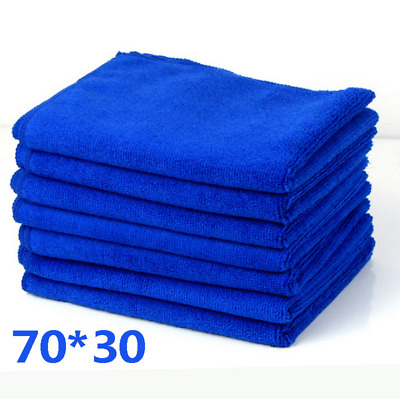Microfibre Wipe Dry Cleaner Auto Car Detailing Soft Cloths Wash Towel Duster CA