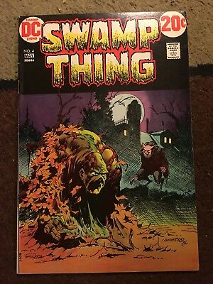 Swamp Thing #4 - Wrightson VF