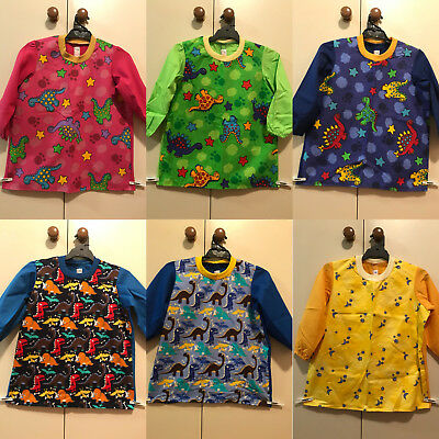 10 Year Old Home Made Art Smock - 26 Designs - Boys Girls Children Kids School
