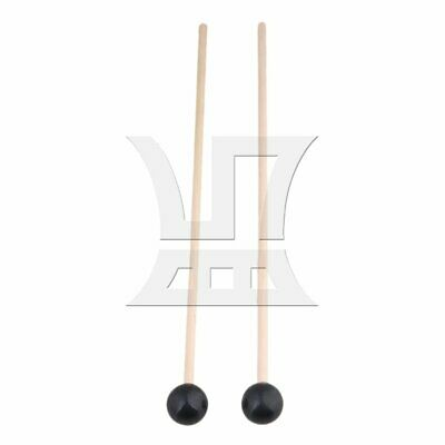 15 Inch Rubber Head Maple Handle Bell Mallet Set of 2