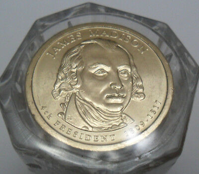 2007 D James Madison Presidential Coin *BU - FIRST DAY ISSUE!* **FREE SHIPPING**