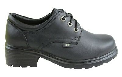Roc Boots Caper Leather Womens Girls School Shoes