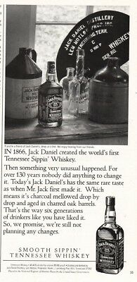 1997 Jack Daniel's Whiskey Antique Bottle Jug Collection Photo Vintage Print Ad