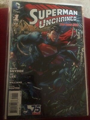 DC comic Superman Unchained #1