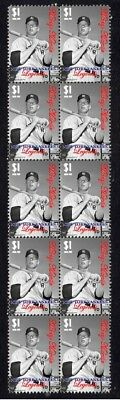 New York Yankees Legends Baseball Stamps, Mickey Mantle