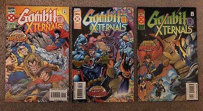 Gambit And The Xternals near full Set #2-4 X-Men Age of Apocalypse 1995 VF/NM