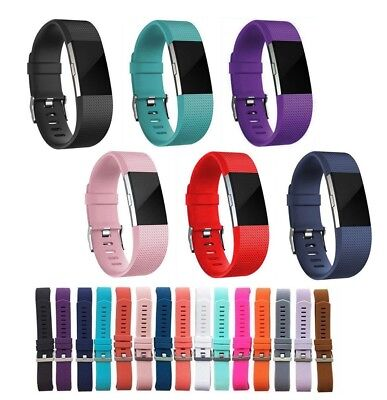 LUXURY Watch Strap for Fitbit Charge 2 Replacement Band Milanese Silicone UK