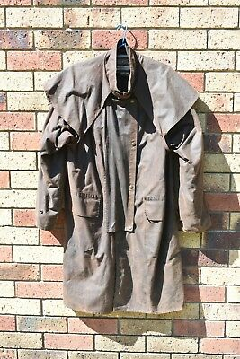 Driza-Bone Great Condition Vintage Brown Short Coat Made in Australia