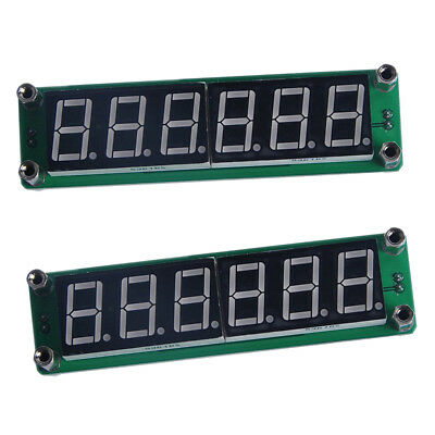 2Pcs PLJ-6LED-H Digital Signal Frequency Counter Cymometer Tester 1~1000MHz
