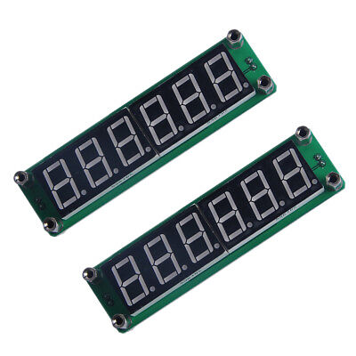 2Pc PLJ-6LED-H Red Signal Frequency Counter Cymometer Tester Meter 1~1000MHz