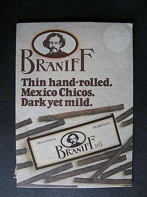 Braniff  Mexican Chicos  Counter Sign