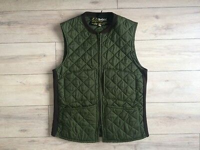 Barbour Vintage Men Quilted Gilet Vest