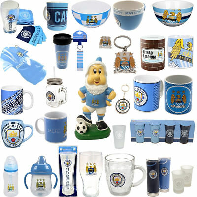 Manchester City Official Football Club Team Merchandise Xmas Gift Selection