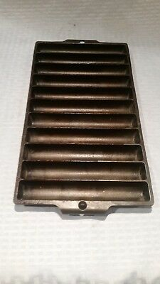 Griswold Vintage Antique Cast Iron No. 22 Corn Bread Stick Pan baking 954 NICE