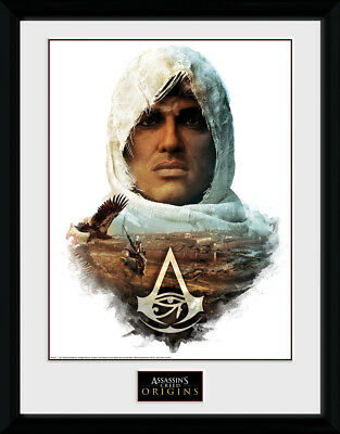 Assassins Creed Origins Face Collector Print Gaming 30x40cm12x16