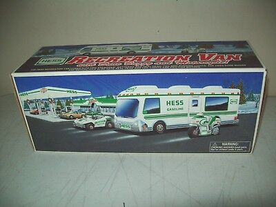 1998 Hess toy Recreation Van buggy & cycle brand new factory intact in the box