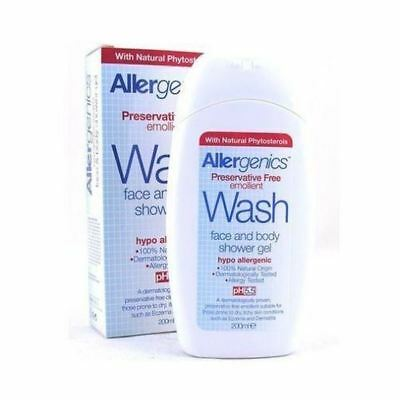 Allergenics Wash (Shower Gel) 200Ml (4 Pack)